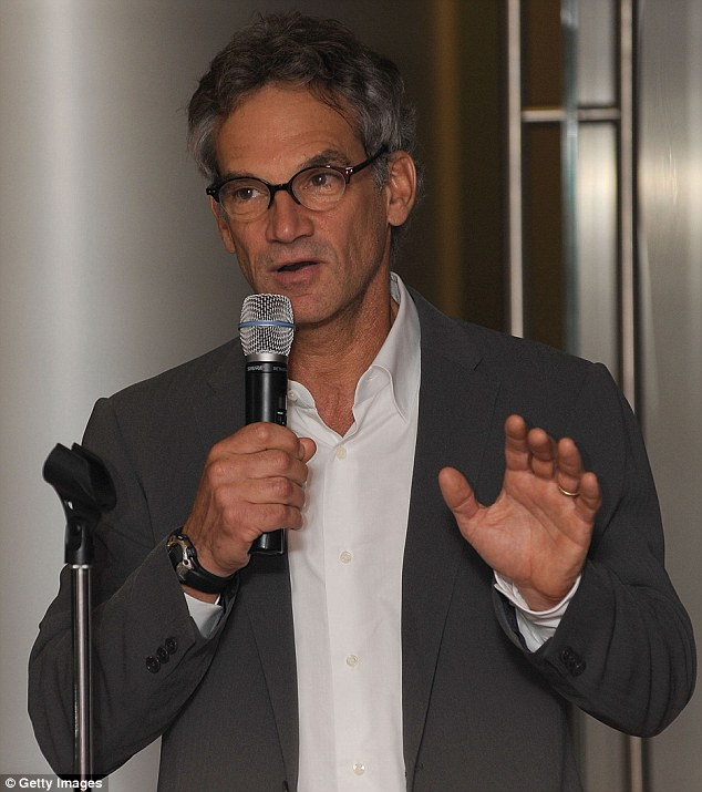 Mr Krakauer, pictured speaking in 2009, is the best selling author of works such as Into Thin Air and Into the Wild