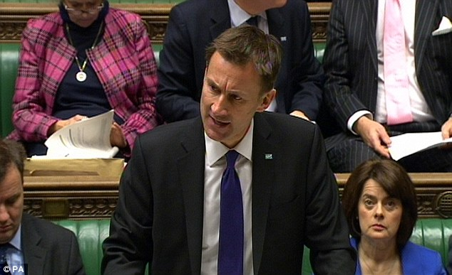 Health secretary Jeremy Hunt  told the House of Commons he accepts the 20 principles laid out in Sir Robert's review. He said legalisation to protect whistleblowers will be fast-tracked