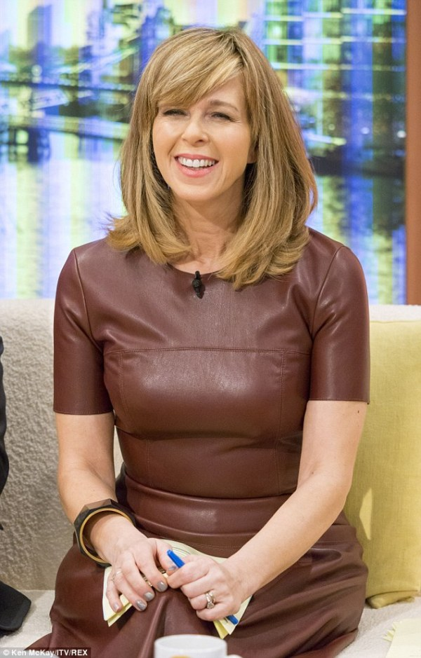 Kate Garraway wears edgy brown dress to cohost Good
