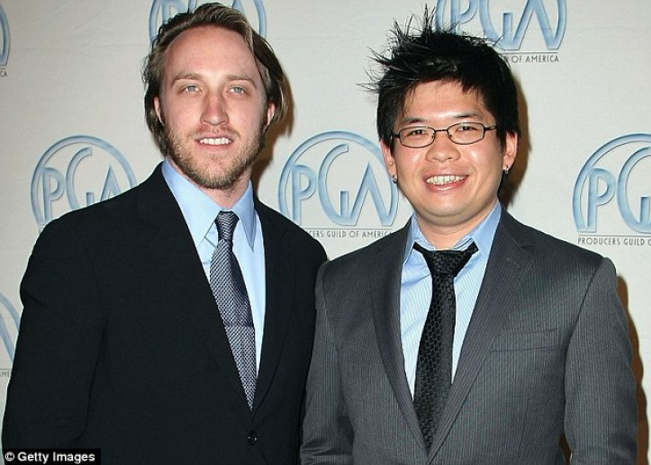 YouTube founders Chad Hurley (left) and Steve Chen (pictured in 2008) helped officially launch the video-sharing website in November, 2005