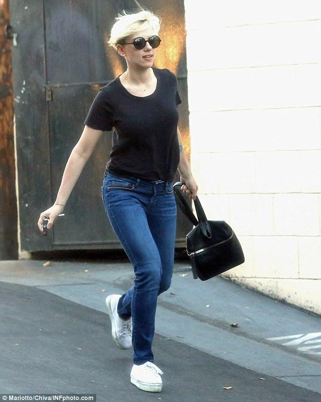 Scarlett Johansson And Romain Dauriac Dote On Their Baby
