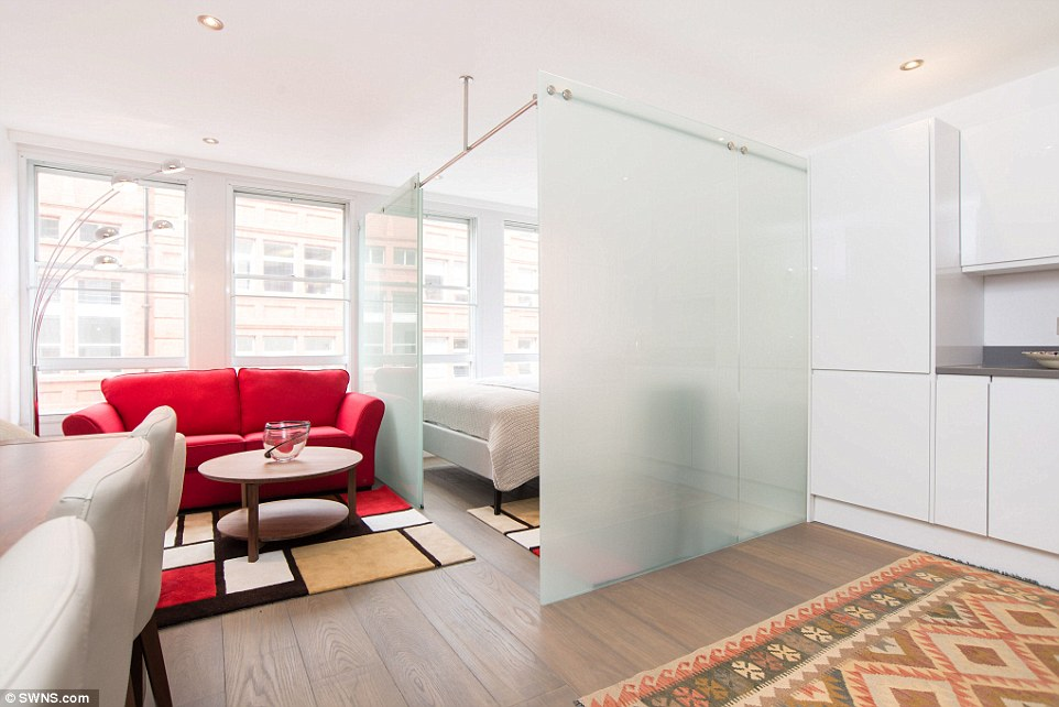 One Bedroom Flat Among Smallest In London Hits Market For