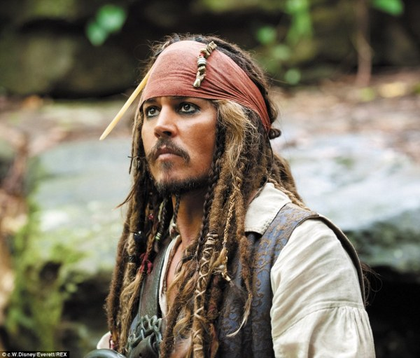 Johnny Depp Pirates of the Caribbean Jack Sparrow