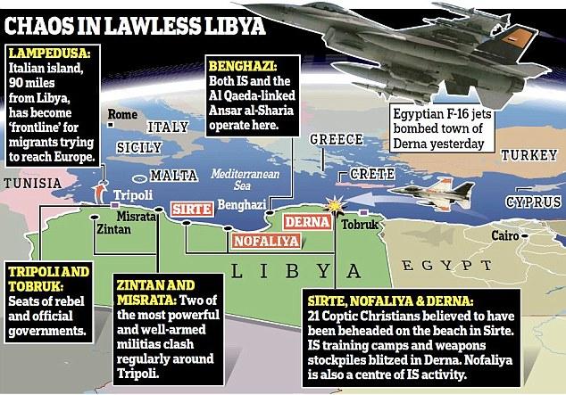 ISIS parecen estar aprovechando el caos en Libia para hacerse un hueco en una nueva región en que está ganando influencia
