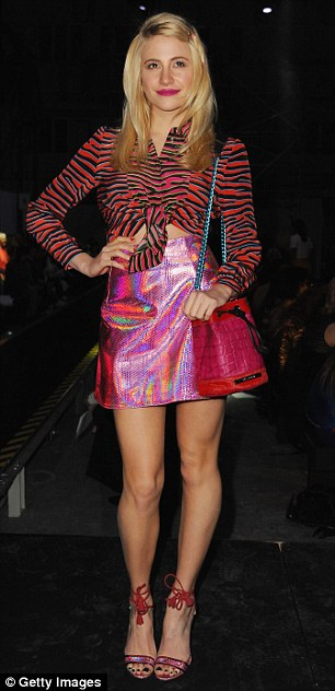 Pixie Lott and Caroline Flack hit the House of Holland