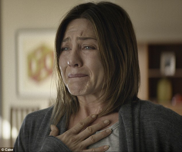 Jennifer Aniston (pictured) is starring in Cake - a new Hollywood film about chronic pain