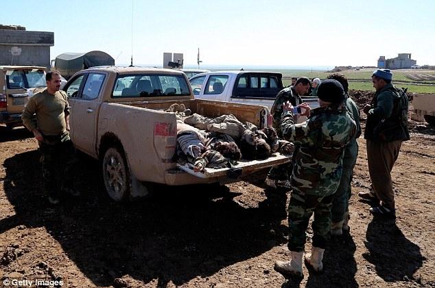 Muerte: Más de 60 militantes del Estado Islámico han muerto cerca de la localidad iraquí de Sultan Abdullah