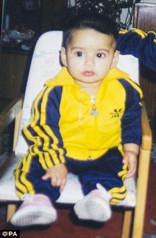 La hermana de Shamima proporcionó una foto de ella cuando era un bebé