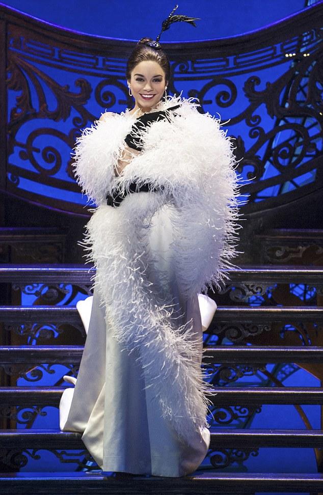 High School Musicals Vanessa Hudgens graduates to Broadway ahead of Gigi debut  Daily Mail Online