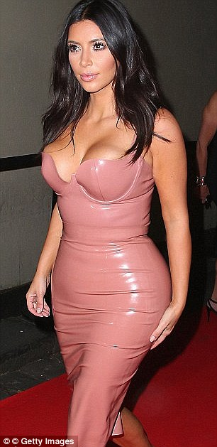 Kim has long championed the material and made headlines when she wore a  look by same the designer back in November for a fragrance launch in Australia