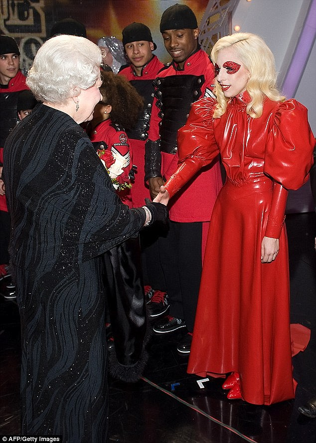 Mrs Kanye West isn't the only celebrity to wear Atsko Kudo designs: the elaborate red dress Lady Gaga wore to meet Queen Elizabeth in 2009 was created by the designer