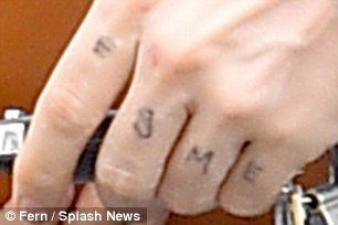 Ryan Gosling Inks Esme On His Knuckles In Honour Of His Baby