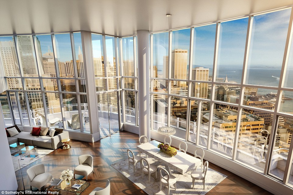 Fivebedroom San Francisco penthouse hits the market at