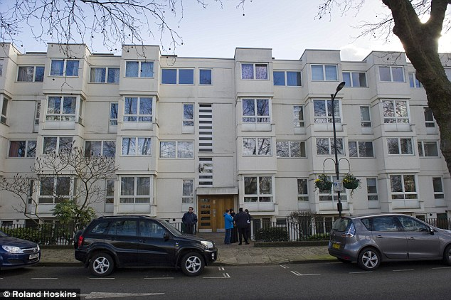 They fled Kuwait after the first Gulf War, claiming persecution because they were seen to favour the Iraqi invasion in 1990. Pictured: Their first three-bedroom flat from 1996 to 1999 in Little Venice