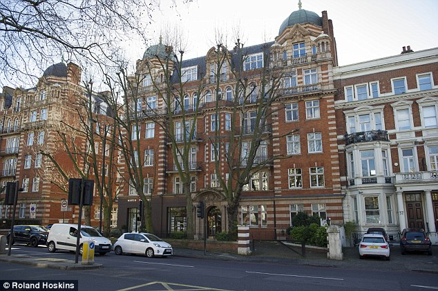 The family lived in this £1.4m apartment in Maida Vale, north London, from 2005 to 2007