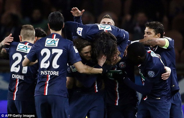 Following their 2-0 home win on Wednesday night, PSG are through to the semi-finals of the French Cup