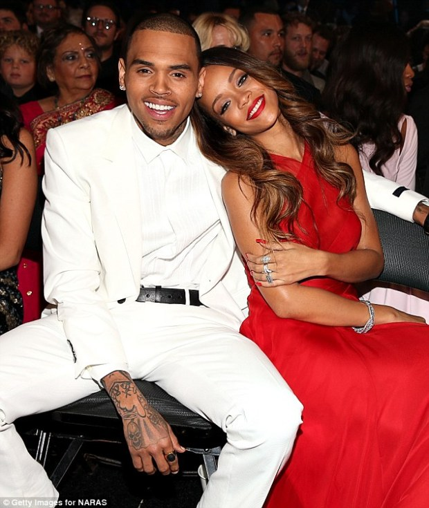 Forgiven: Chris was involved with singer Rihanna before his romance with Karreuche. They started dating in 2008, split in 2009 and briefly re-united in late 2012. They were seen cuddling up at the 2013 Grammy Awards