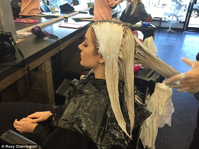 at the salon on pinterest the salon hair salons and roller