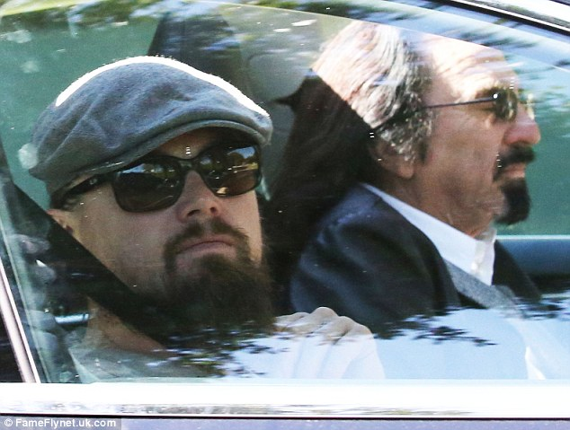 Leonardo DiCaprio Runs Errands With His Goateed And Long
