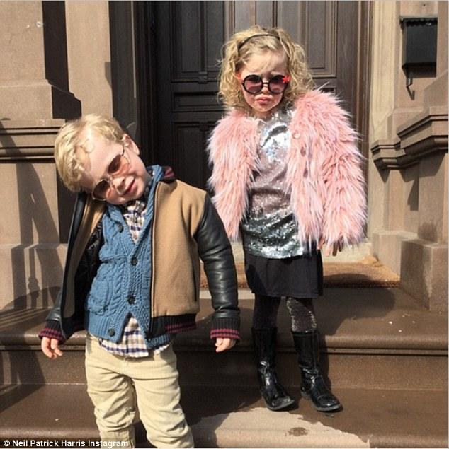 Neil Patrick Harris Dresses His Kids Like Adults After