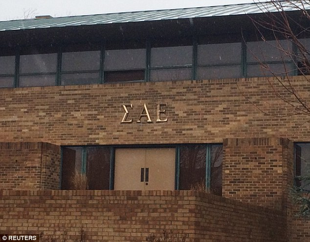 Oklahoma University president calls on frat brothers to drop out over nword chant  Daily Mail
