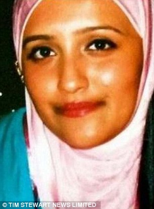 Sought advice: Before they went missing, the girls are believed to have communicated with Aqsa Mahmood (pictured), a notorious jihadi who left Glasgow for Syria last year