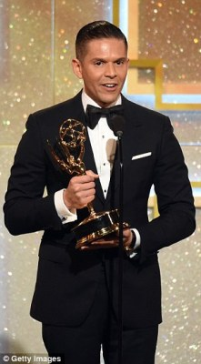 At the Daytime Emmy Awards last June Figueroa had won the Outstanding Daytime Talent in the Spanish category