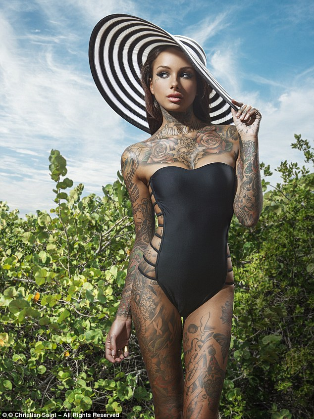 Kimberly Ann Uk Tattoo Model