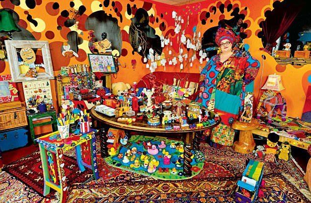 Camila Batmanghelidjh, 52, in her Kids Company office in south London