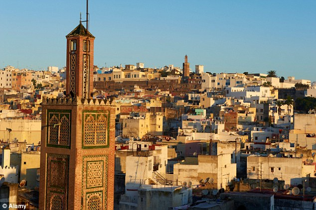 Captivating: Tangier - with its medina to the forefront - has long tempted European travellers to Morocco