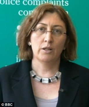 Allegations: Sarah Green of the IPCC will  oversee the investigation into the corruption claims