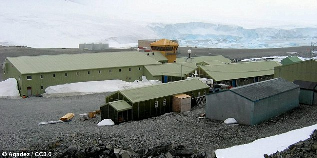 Base: Rothera is the capital of the British Antarctic Territory and is a major centre of scientific research