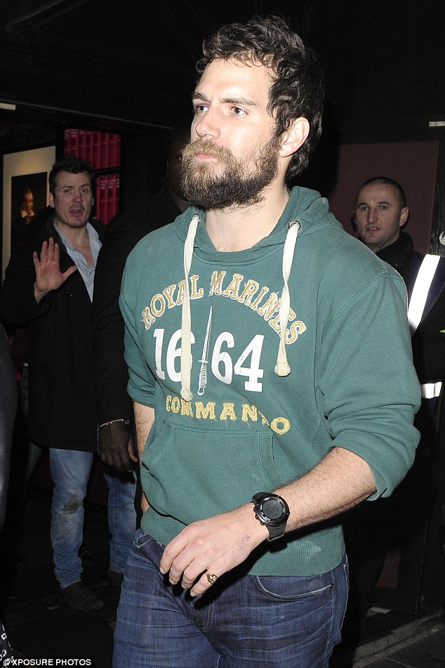Henry Cavill Reveals A Black Eye As He Enjoys A Night Out