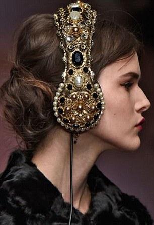 Dolce Amp Gabbana Accused Of Stealing Jewel Headphone Design