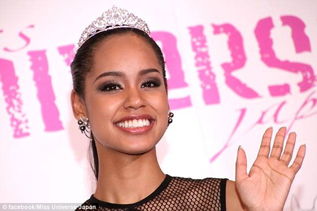Ariana Miyamoto was born and raised in Nagasaki, speaks fluent Japanese, and has been selected to represent Japan in the Miss Universe pageant