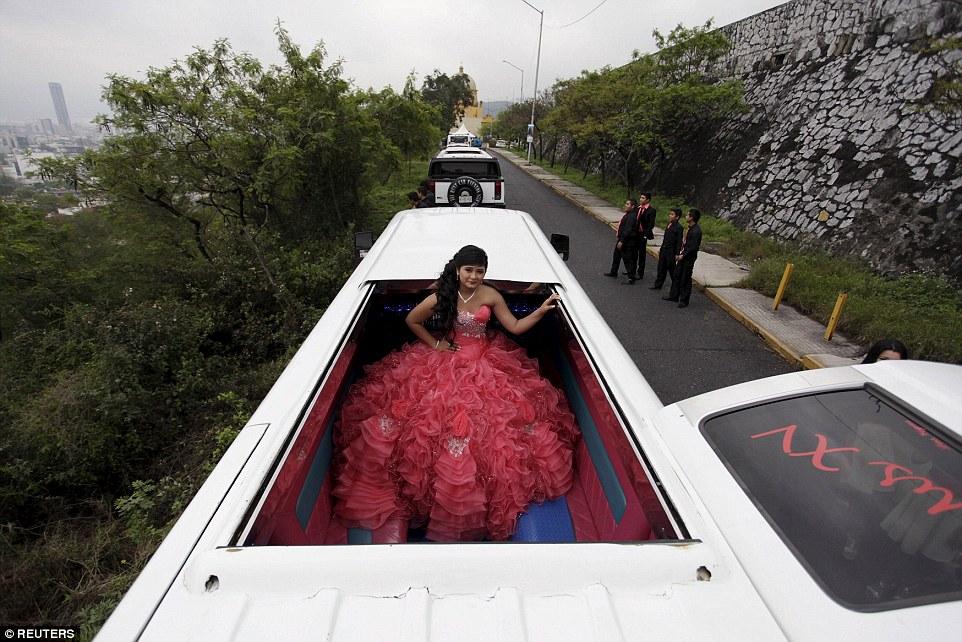 mexican teens celebrate their