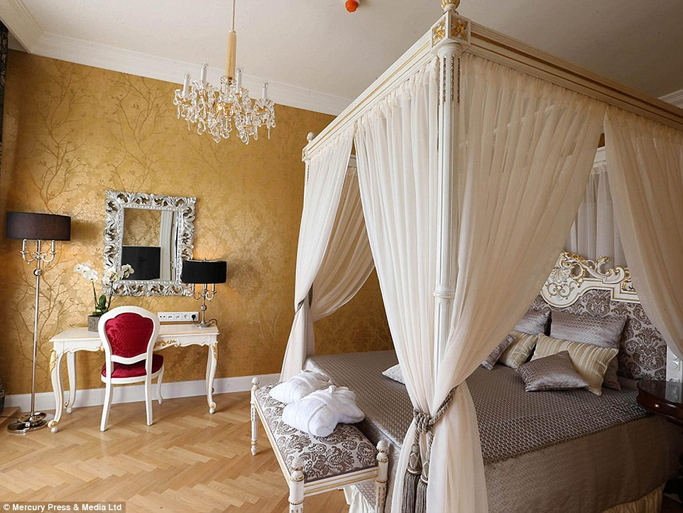 Schonbrunn Palace in Vienna offering visitors the chance to stay overnight  Daily Mail Online