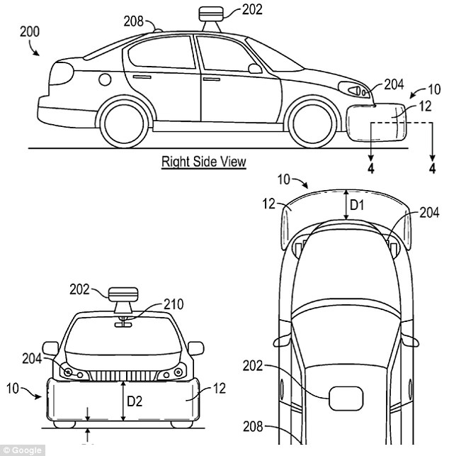 Google reveals its self-driving car can keep an eye on