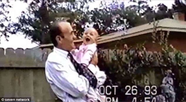 Samantha and her real father Benjamin Todd III pictured together just months before Savanna disappeared. Following her parents' separation her father was awarded full custody of Savanna