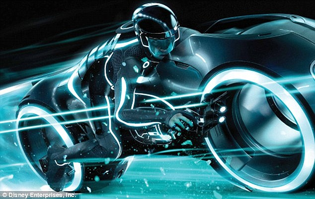Real Girl Full Hd Wallpaper Tron Inspired Electric Motorbike Can Be Yours For 40k