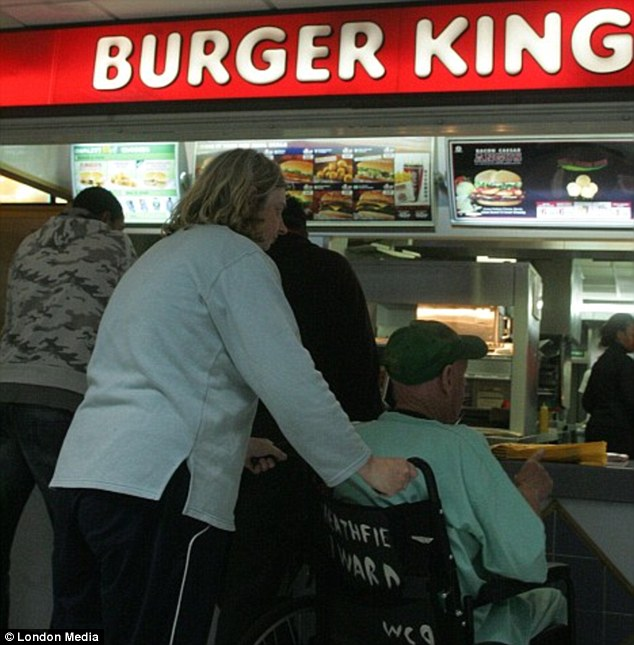 More than 100 NHS hospitals in Britain contain fast food outlets, worrying new figures have revealed.Addenbrooke's in Cambridge operates a food court with a Burger King (pictured)