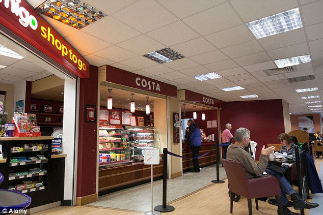 Burger King Costa Coffee And Greggs In Hospitals Amounts