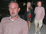 David Arquette and his girlfriend Christina McLarty arriving for dinner at the Nice Guy in Los Angeles. <p>Pictured: David Arquette and Christina McLarty<br /> Ref: SPL980658  260315<br /> Picture by: Styles / Ajax / Splash News</p> <p>Splash News and Pictures<br /> Los Angeles: 310-821-2666<br /> New York: 212-619-2666<br /> London: 870-934-2666<br /> photodesk@splashnews.com