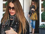 Picture Shows: Sofia Vergara  March 27, 2015\n \n 'Modern Family' actress Sofia Vergara is seen leaving Epione Cosmetic Dermatology in Beverly Hills, California. Sofia dressed casually in a print scarf, a black distressed sweater and blue ripped jeans.\n \n Non-Exclusive\n UK RIGHTS ONLY\n \n Pictures by : FameFlynet UK © 2015\n Tel : +44 (0)20 3551 5049\n Email : info@fameflynet.uk.com