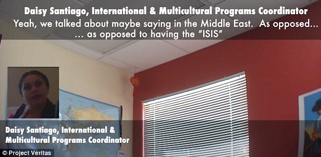 The only objection? Asking students to support a group with 'ISIS' in its name, a multicultural program coordinator thought, might hold the organization back – so why not rename it?