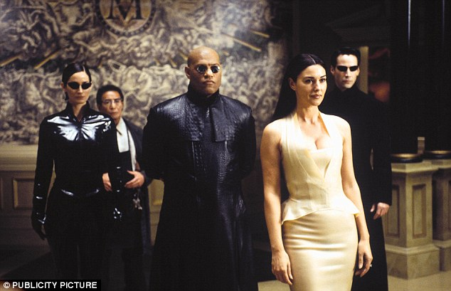 'While science fiction novels gave me the conceptual framework for thinking about VR, it was The Matrix that made me believe in it,' Mr Abrash said. He quoted Morpheus (played by Laurence Fishburne centre) who said in the franchise: 'What is real? 'Real' is simply electrical signals interpreted by your brain'