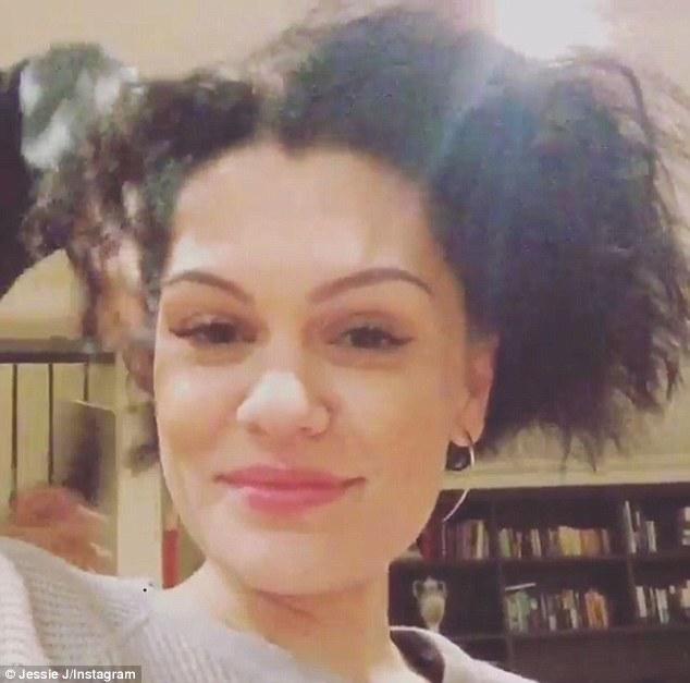 Jessie J Shows Off Her Wild Curls On Instagram After
