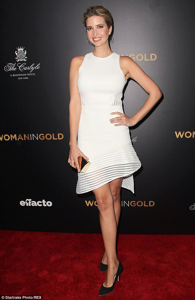 Ivanka Trump Keeps It Simple For Premiere Of Woman In Gold