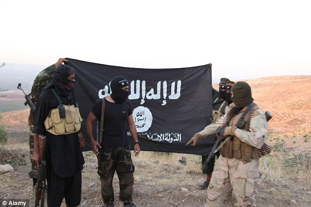 Joining the jihad: Around 600 Britons, many of them teenagers or young adults, are believed to have joined ISIS since 2013 (file picture)