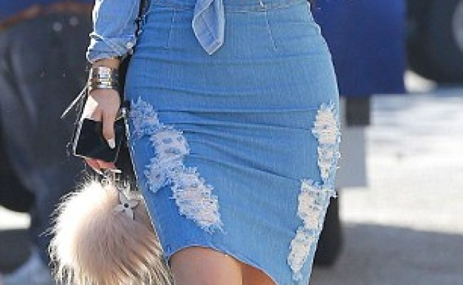 Kylie Jenner Turns Jeans Into High Fashion With A